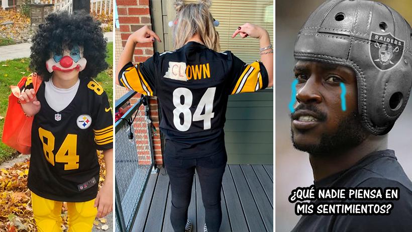 Niños se burlan de Antonio Brown con sus disfraces de Halloween y ya son la esperanza del internet