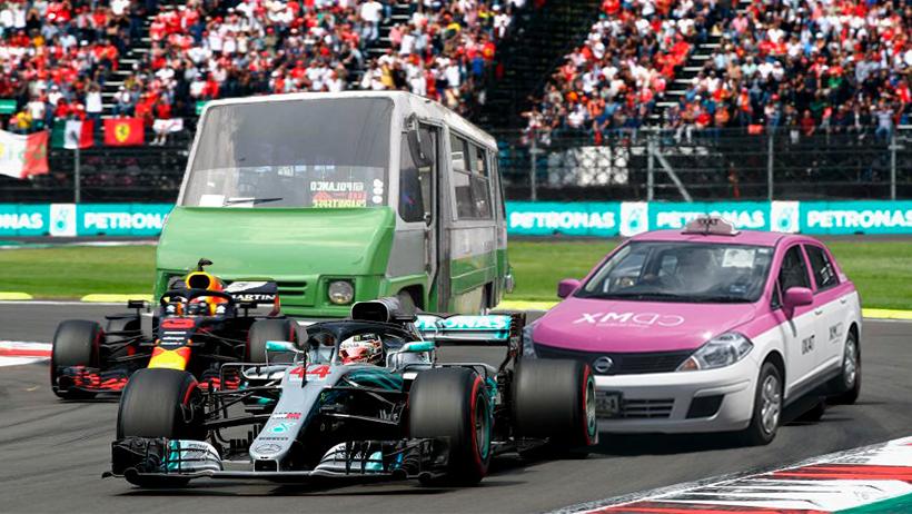 Personas que sean cafres al volante podrán competir en la Fórmula 1 este fin de semana