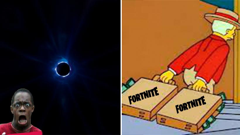 Fortnite se cayó, le vieron la cara a sus jugadores y el internet se consuela con memes