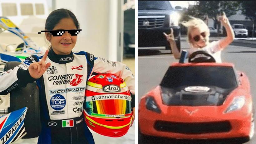 Ivanna Richards, piloto mexa de 11 años debutará en Le Mans y tú aún no manejas standard ni tu vida