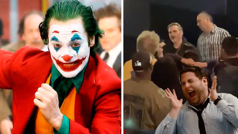 Típico que vas a ver el Joker y la persona a lado de ti es… Momento ¡Es el Joker!