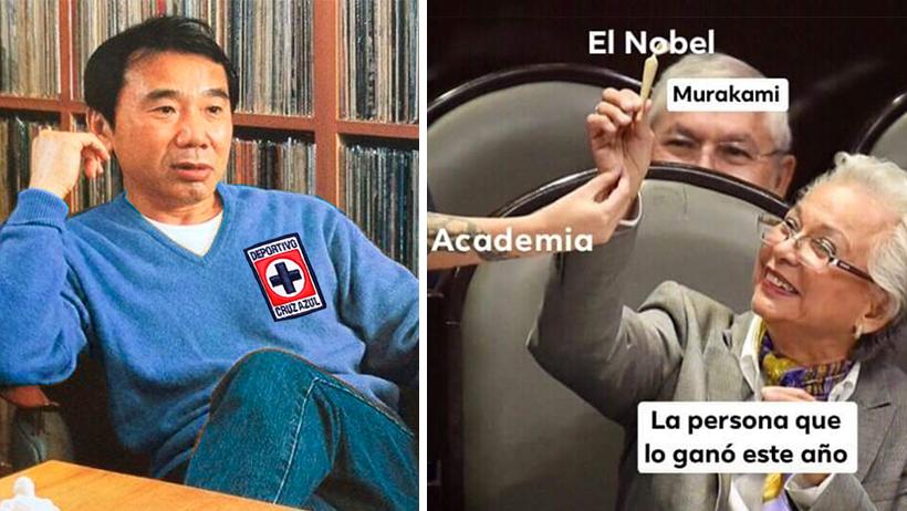 Despertar sin piernas nivel: Murakami pierde el Nobel otra vez y así reaccionó el internet