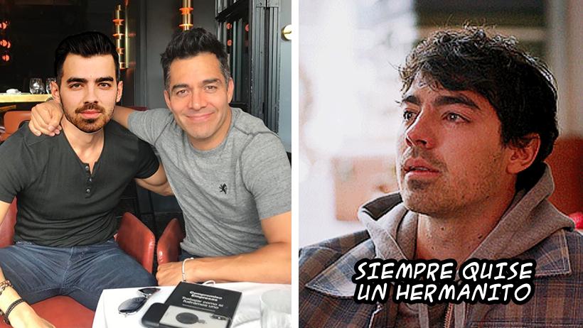 Joe Jonas cae en depresión luego de que Omar Chaparro revelara que no son familia