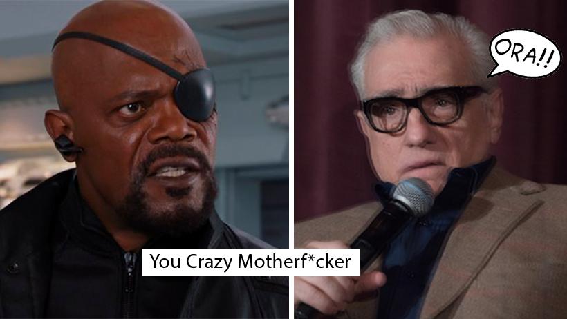 Samuel L. Jackson sentó a Martin Scorsese por criticar a Marvel en plena alfombra roja