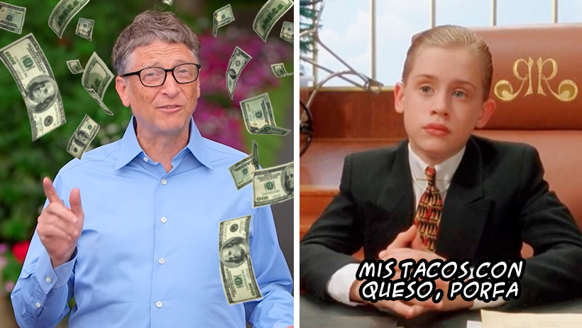 ¿Cansado de tu salario? Ahora puedes gastar la fortuna de Bill Gates y sentirte millonetas