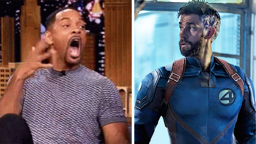Here we go again: Marvel y Disney quieren a Will Smith como uno de los Fantastic Four