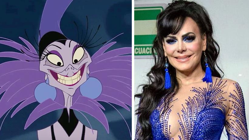 """Disney firma a Maribel Guardia como Yzma en película de """"Las Locuras del Emperador"""""""