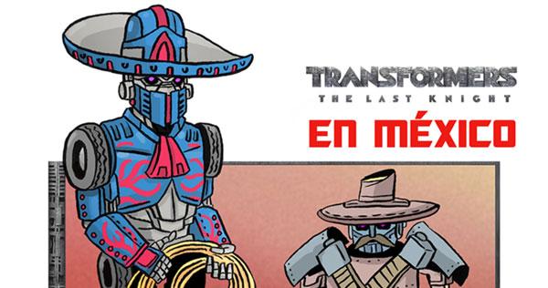 6 Transformers históricos mexicanos que no salieron en la nueva película