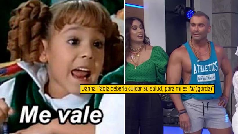 """Danna Paola hace que corran a Diego Di Marco de Hoy por haberle dicho """"gorda"""""""