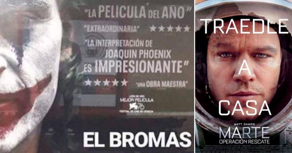 """Aparte de """"El Bromas"""", otras pésimas traducciones de títulos que nos hacen sangrar los ojos"""