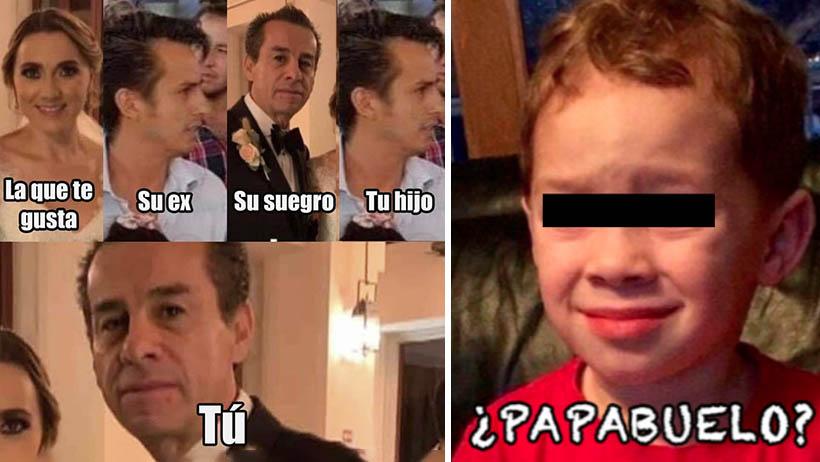 Exalcalde de Tequisquiapan se casa con su nuera memes