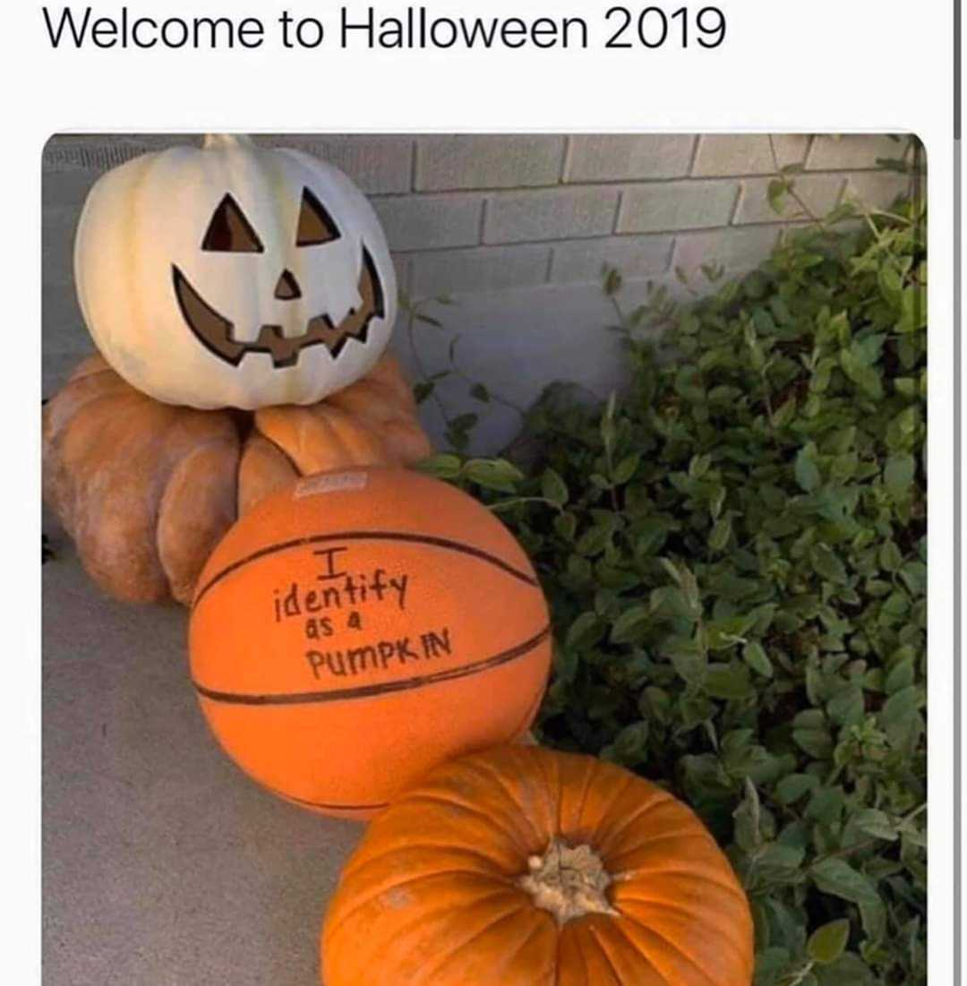 Meme Basketball Pumpkin