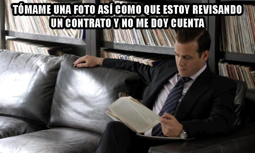 Harvey Specter Meme