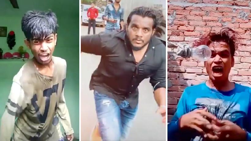 17 videos virales de la India.