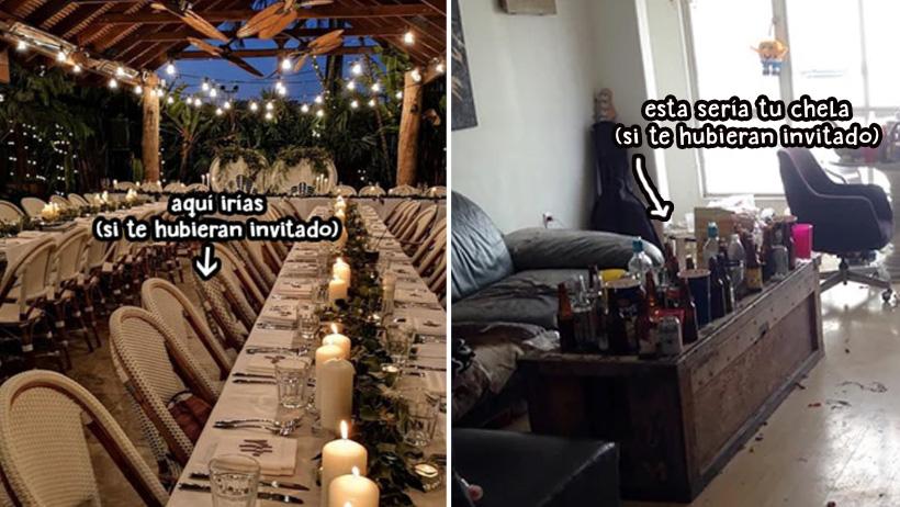 Compañero que se queja de no ser invitado a la boda es atacado por compañera que se queja de no ser invitada a su fiesta