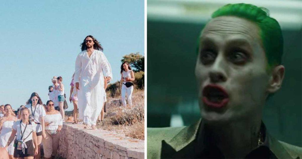 Jared Leto se emperró tanto con el Joker de Joaquín Phoenix que ya empezó su propio culto
