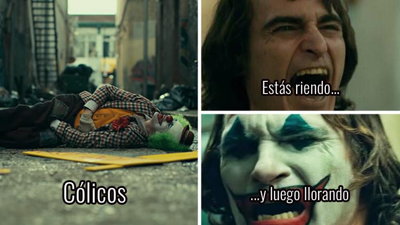 12 acertadas comparaciones del Joker y una mujer cuando la visita Andrés