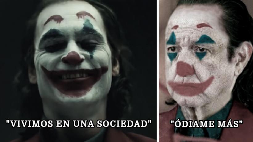 Las 13 primeras imágenes del nuevo Joker con frases que nunca dijo