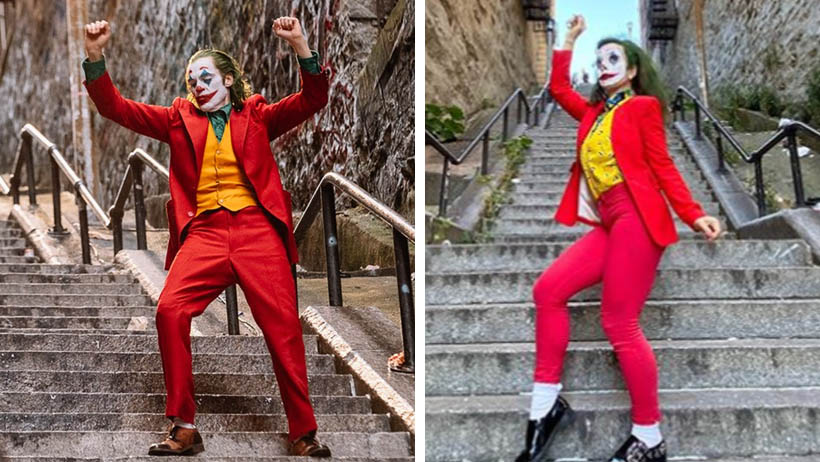 Las escaleras del Joker se infestan de influencers