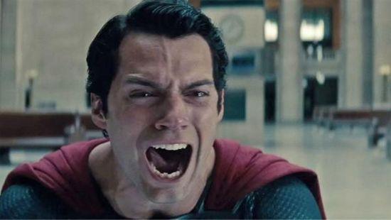 Man of Steel Superman Scream