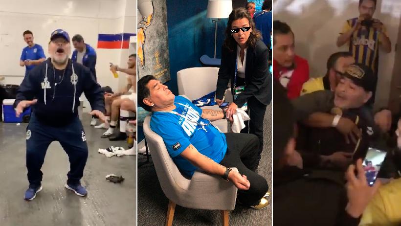 Porque todos lo pidieron: Otros 14 videos de Maradona en coca para que te sientas entero