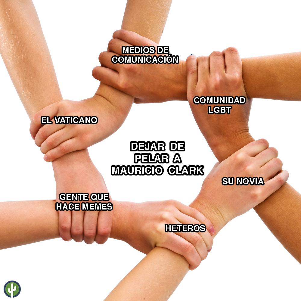 Mauricio Clark Meme
