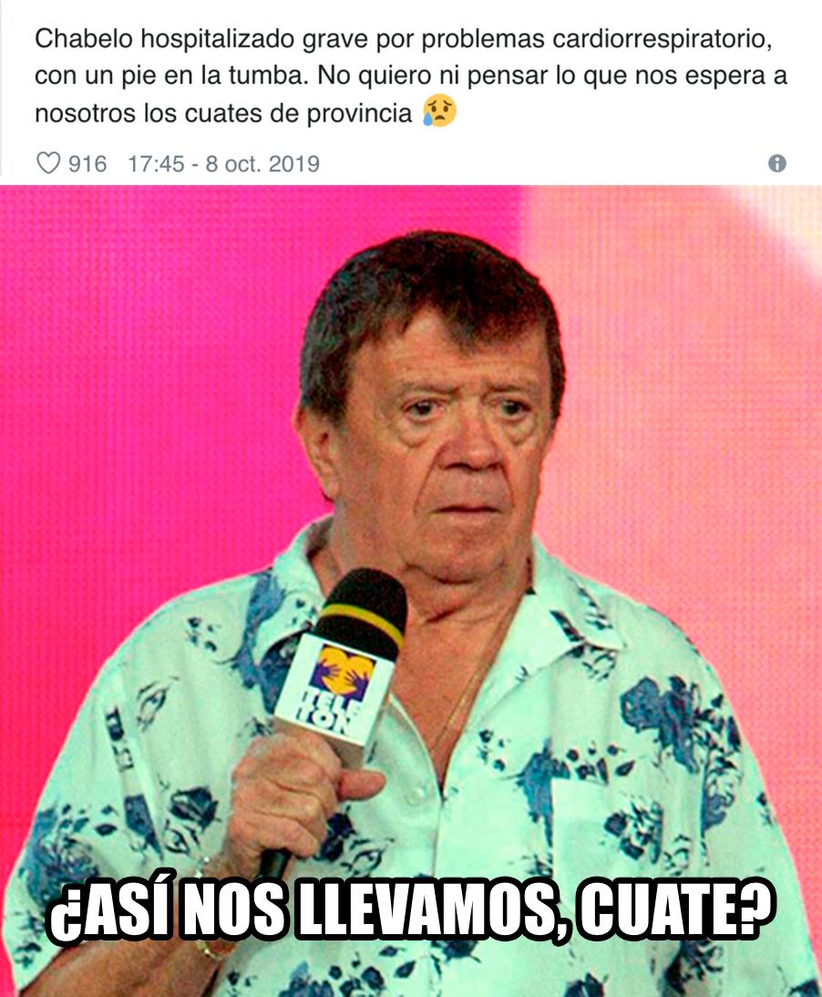 Chabelo Meme