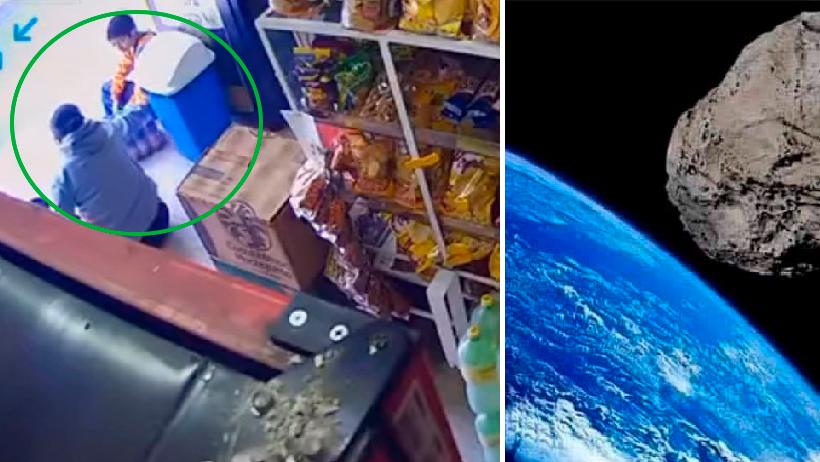 Que ya nos caiga el meteorito: Mujer le enseña a su hijo cómo robar en una tienda