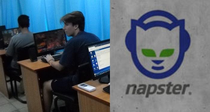 Termina por descargarse película en Napster que se empezó a bajar en 1998
