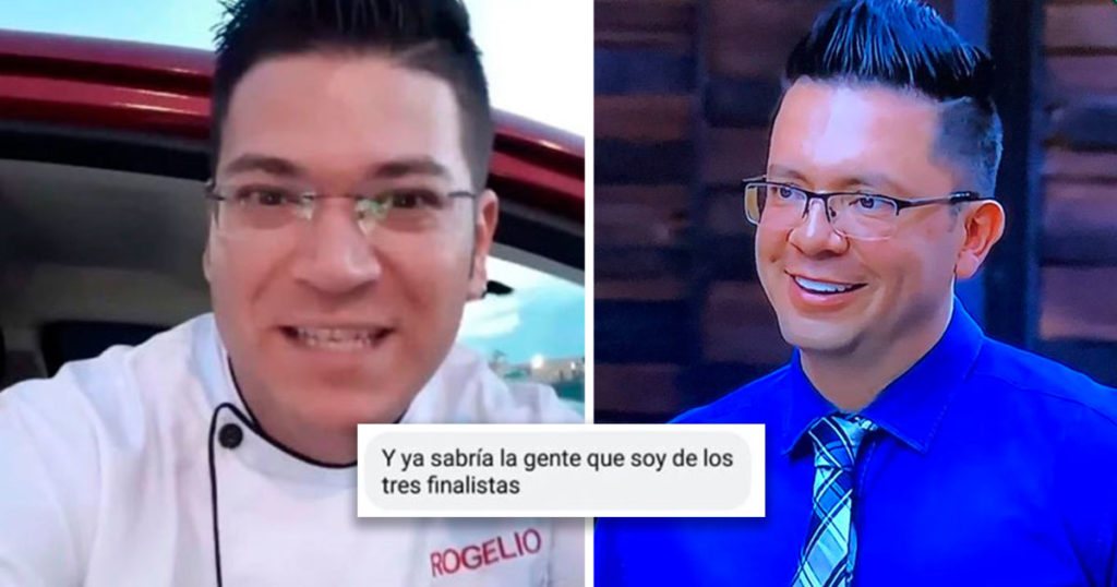 Trepadora nivel: filtran que Rogelio llega a la final de Masterchef gracias al Chef Joserra