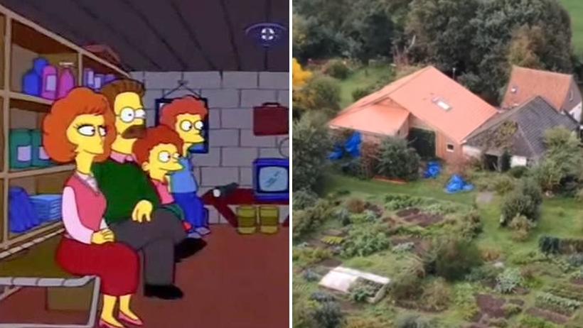 Clásico que esperas el fin del mundo con tus hijos en un sótano… por nueve años