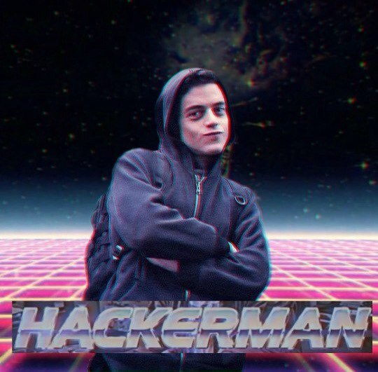 Rami Malek Hackerman
