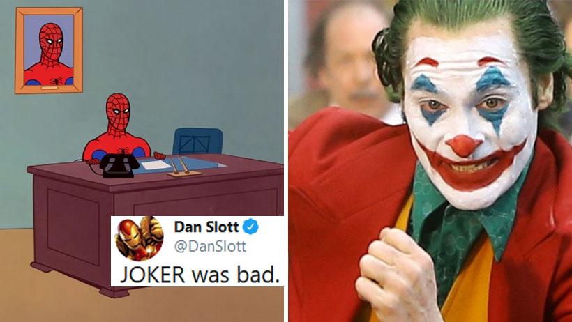 Oi a la envidiosa: Escritor de Marvel se atreve a decir que Joker es mala