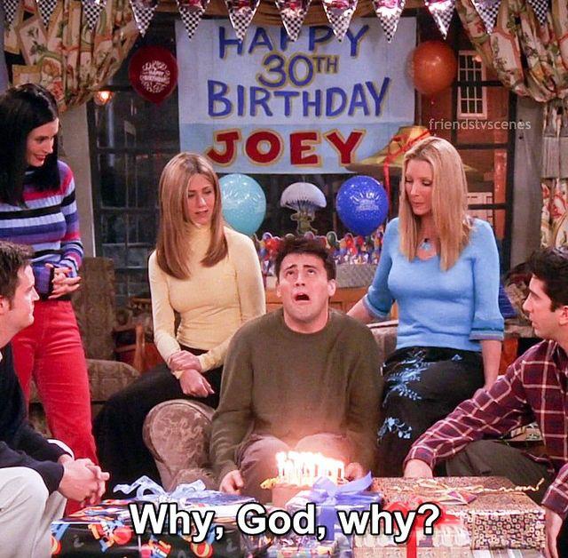 Joey Birthday Friends