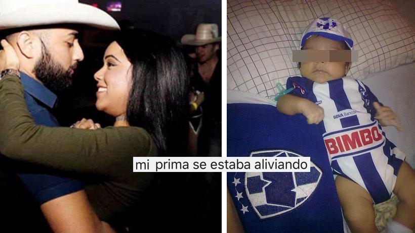 Bebé de primos regios nace en el tráfico de Monterrey