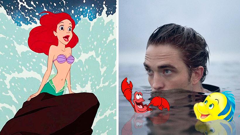 Tras ser despedido, Disney contrata a Robert Pattinson como La Sirenita