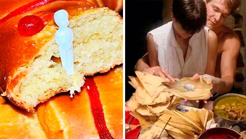 Personas que coman Rosca de Reyes desde ahorita tendrán que pagar triples tamales en Febrero