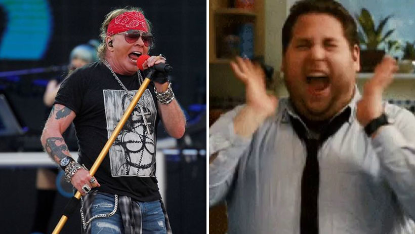 Chavito de 38 años sufre hiperventilación al ver que Guns N' Roses estará en el VL