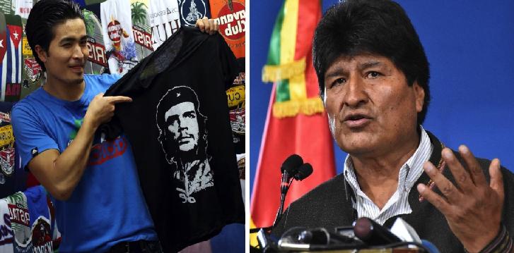 Amante de Fidel Castro indignado por la situación en Bolivia