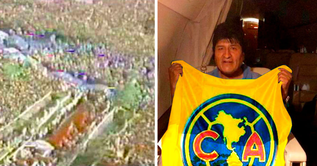 Pueblo de México se prepara para recibir con espejitos a Evo Morales