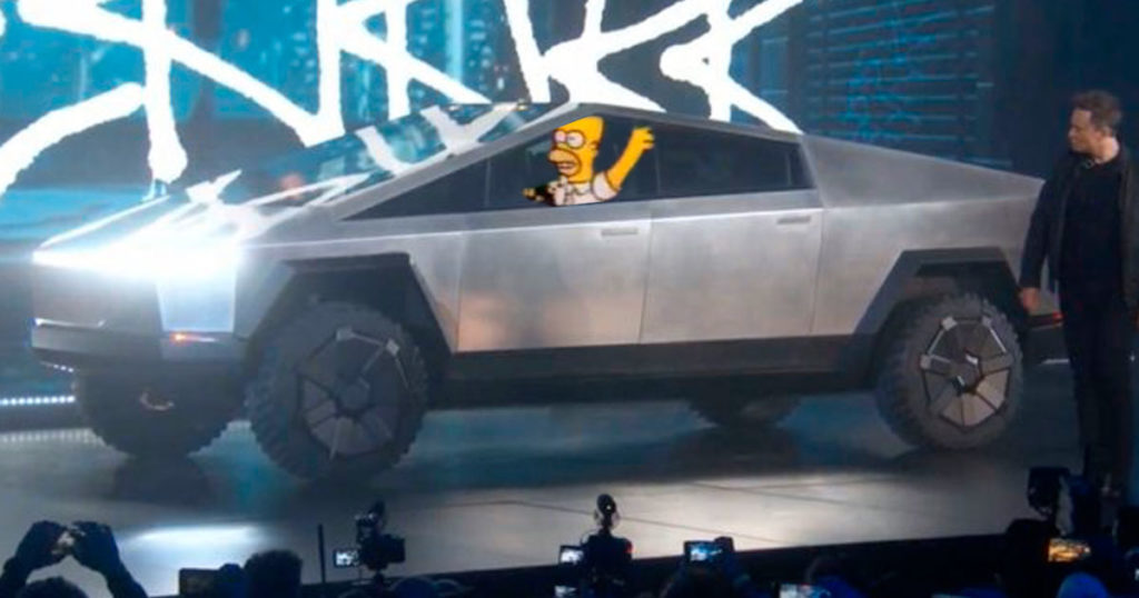 Confirman que el nuevo auto de Elon Musk fue creado por su hermano perdido, Homero Musk