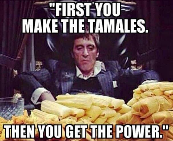 Tamales Meme