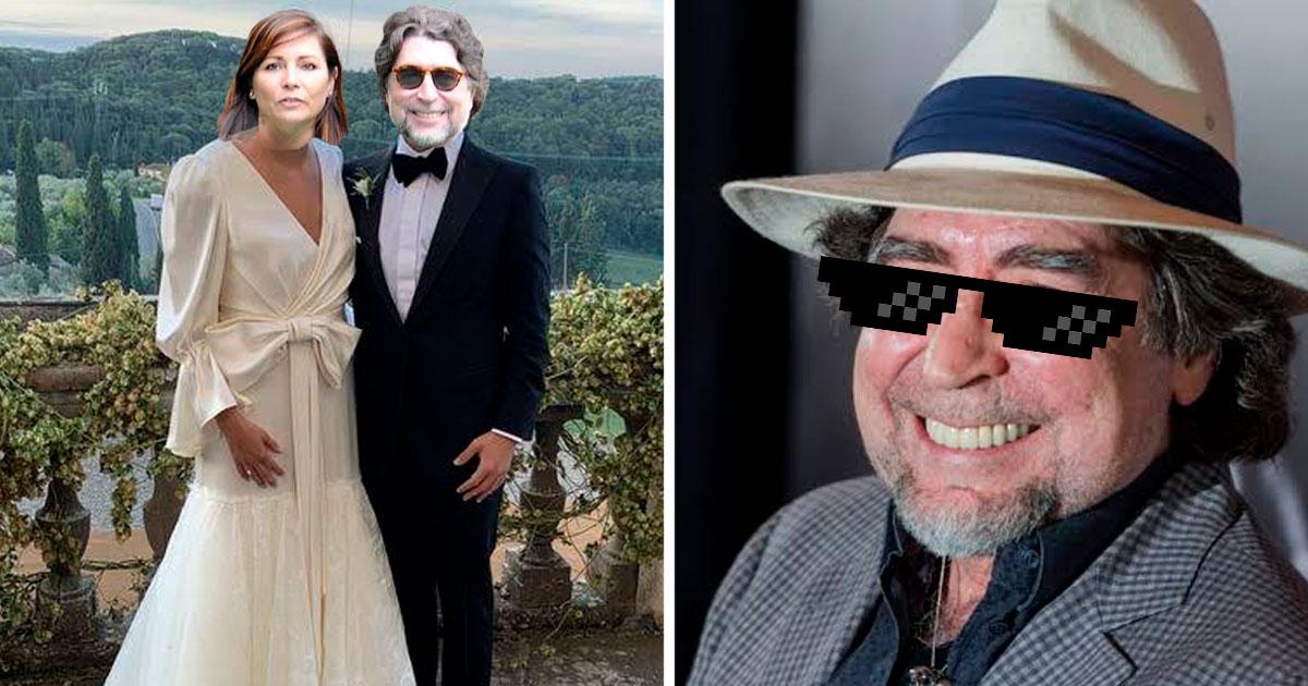 A sus 70 años, Joaquín Sabina ¡se nos casa!