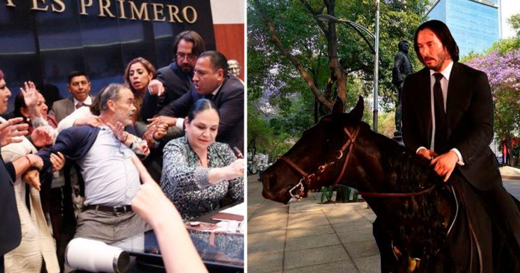 Captan a John Wick entrando a México con la misión de calmar a Gustavo Madero