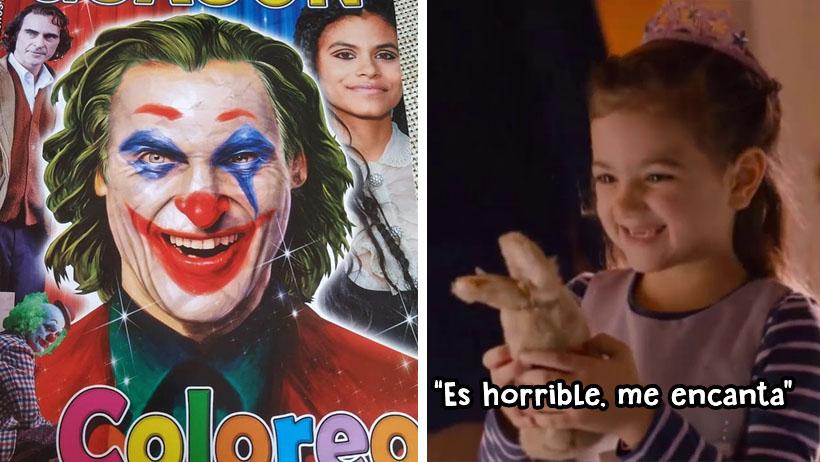 Lanzan libro para colorear del Joker