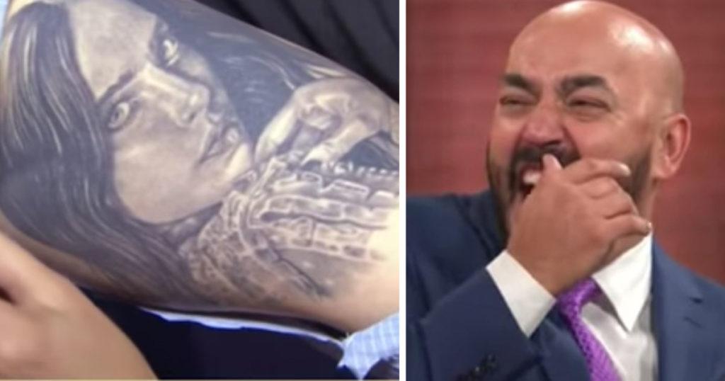 Ex novio tóxico nivel: Lupillo dice que le da besitos a su tatuaje de Belinda