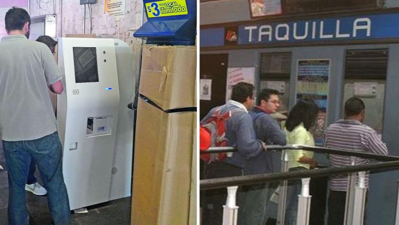 ¿Adiós a la fría taquillera del Metro? Instalan máquinas de recarga en Línea 1