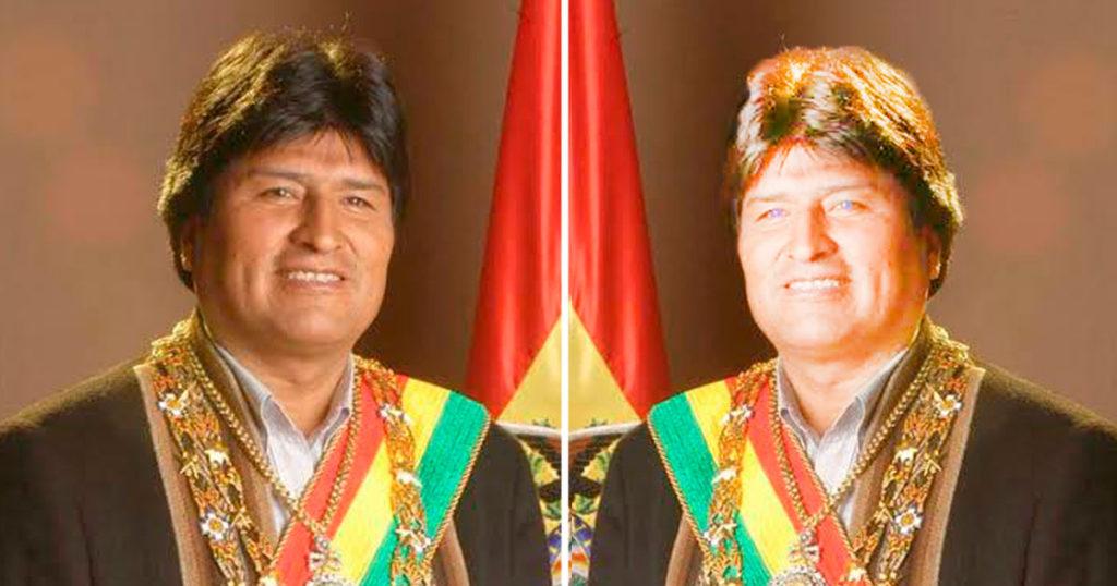 Presentan a Ovo Morales, el gemelo malvado de Evo Morales