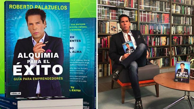 Tu padrino Palazuelos se convierte en el autor de libros más bronceado de México