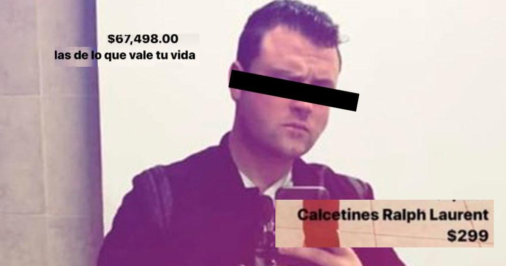 Este brother presumió su outfit de 67 mil bolas y el internet lo ventiló sabroso